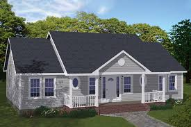 200 1060 front elevation of ranch home theplancollection house plan 200 1060