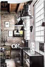 interior design furniture minimalism industrial design. Brick Walls / Industrial Chic Home Decor Design Minimalist Nyc Apartment Black And White Nothing In Between Large Windows Framed Interior Furniture Minimalism R