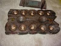Mancala Wooden Board Game Mancala Wood Board Game mangala Pinterest Board Woods and 66