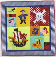 Pirate Party Cot Quilt Pattern - Craft Depot & Pirate Party Cot Quilt Pattern Adamdwight.com