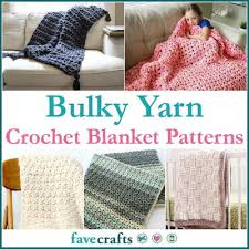Bulky Yarn Crochet Patterns