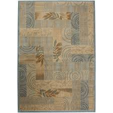 rizzy home bellevue collection blue beige 9 ft x 13 ft area rug