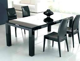 large round dining table glass seats 8 size of with bench