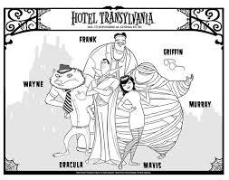 Kleurplaat Hotel Transilvania Afb 26278 Images