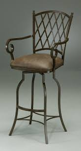 wrought iron swivel bar stools. Simple Swivel Black Iron Bar Stool With Arm And Back Also Leather Seat Stools  Wheels Wrought Swivel Arms On Pinterest