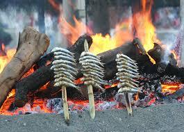 Resultado de imagen de imagenes de sardinas asadas
