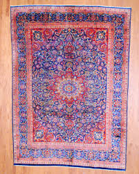 persian hand knotted sarouk 8 x 11 herat oriental rugs