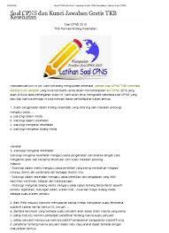Agar kamu bisa lanjut pada… Download Gratis Kumpulan Soal Soal Cpns 2010 2011