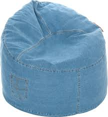 denim bean bag chair large ja 6ft co uk