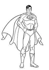 So, this character must be a nice picture to color. Superman Coloring Pages Superhero Coloring Pages Superman Coloring Pages Superhero Coloring