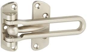 front door lockNational Hardware N335984 Door Security Guard Satin Nickel