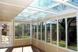 Contemporary Enclosed Patio Inside Garden Rooms Sunrooms Designs 5