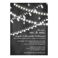 reception only invitations & announcements zazzle Wedding Reception Only Invitation Templates romantic string lights reception only invitation free wedding reception only invitation templates