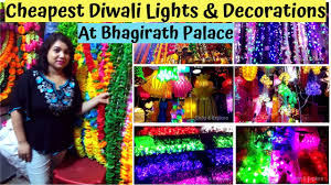 Bhagirath Palace Diwali Lights Bhagirath Palace Cheapest Diwali Lights Diwali Decoration Shop Explore