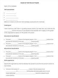 Resume Samples For Manufacturing Jobs Manufacturing Job Resume