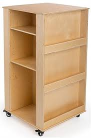 Wooden Book Stand For Display Children's Book Stand Includes Adjustable Shelves 85