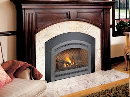 fireplace insert panels