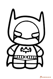 Small Picture Top 10 Batman Printable Coloring Pages for Kids and Adults