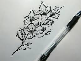 сделать татуировку цветок на ключица 5x10 см в городе калуга по