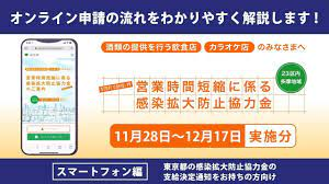 東京 都 時短 営業 協力 金 申請