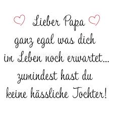 Lieber Papa Lustiger Spruch Hübsche Tochter Eltern Thermobecher