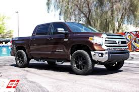 20×9 Fuel Coupler Black w/ Tint wheels on 2015 Toyota Tundra 2 in ...