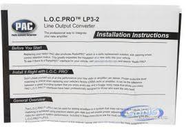 pac lp l o c pro series channel line output converter product pac lp3 2