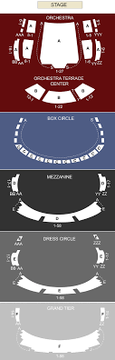 Winspear Opera House Dallas Tx Seating Chart Stage
