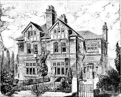 Gravure Ancienne Maison Architecture Et Habitation Coloriages