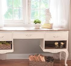 frenchprov desk w annie sloan limed wood top