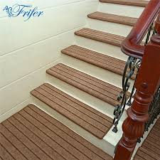 high quality stair carpet sets anti slip stairs tread protector mats soft step rug for stair fit for 24cm width stairs outdoor chair cushions patio