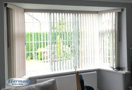 vertical blinds bay window. Simple Blinds Vertical Blinds With Pelmets In A Bay Window To Harmony  Bolton