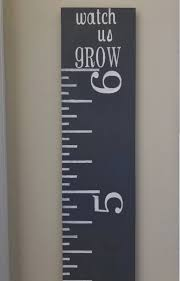 Kids Growth Chart Stick 6 Wood Growth Chart Ruler Kids Growth Chart Over Sized