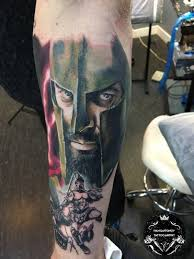 гладиатор 300 спартанцев Tattoo Hitech