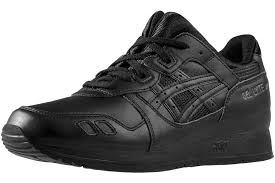 asics gel lyte iii h534l 9090 uni black sports shoes black 35 incl