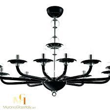 chandeliers modern glass chandelier black bubble