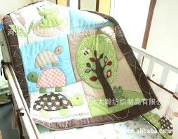 ninja turtles crib sheets turtle bed sets big turtle tree frog crib bedding set 7 pieces