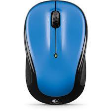 Logitech M325 Wireless Optical Mouse Light Silver Logitech M325 3 Button Scroll Wheel 2 4 Ghz Usb Wireless Optical Mouse Walmart Com