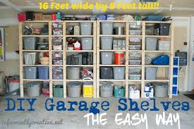 how to build sy garage shelves project