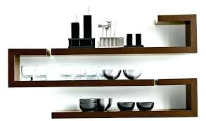 contemporary wall shelves ideas for regarding decor 1 display shelf full size