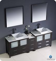 modern double sink bathroom vanities. Fresca Torino Modern Bathroom Vanity Double Sink Vanities B