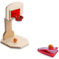 Wooden Basketball Game DIY Mini Basketball Game Paint Kit Imagine Toys 35
