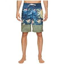 Speedo Women S Size Chart Speedo Aloha Stripe E Boardshorts Mens Swimwear U2cblfpr