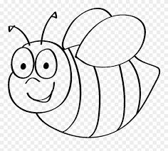Bumble Bee Template Printable Clip Art Coloring Pages Gambar