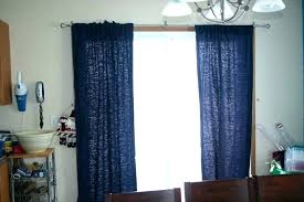 curtains on rods curtains on sliding glass doors sliding glass door curtain rods for doors with vertical blinds blackout curtain rods s