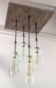 20 bright ideas diy wine beer bottle chandeliers edison bulb chandelierwine