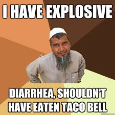 taco bell diarrhea. Unique Bell I Have Explosive Diarrhea Shouldnu0027t Eaten Taco Bell For Taco Bell Diarrhea U