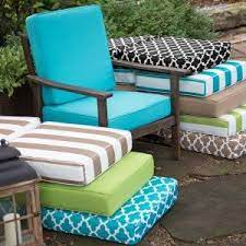9111 Outdoor Cushions Recovered 27 X 27 X 5 By Harrington