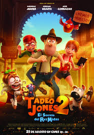 Tadeo Jones 2: El secreto del Rey Midas (2017) español