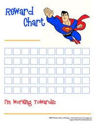 Superman Reward Chart
